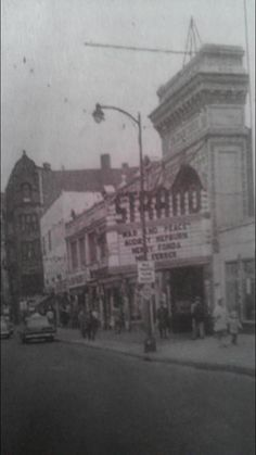 The Strand Theater, Central Street, Lowell, Massachusetts