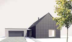 #family house project #small house architecture
