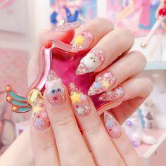 Kawaii Subscription Box, What's My Aesthetic, Kawaii Nail Art, Girls Nails, Cosplay Makeup, Cute Makeup, Cool Nail Art, Kawaii Fashion, Magical Girl