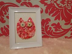 Hand Made Owl Button picture Wanneroo Wanneroo Area image 1