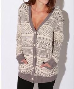 such a typical hipster sweater, but I just love the pattern and it looks really warm. perfect for those chilly fall nights!