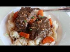 "Beef Short Ribs ""Sauerbraten"" . I have mad ethis twice now. I reminds me of what my grand mother would have made."