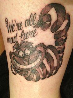 My Cheshire Cat and favorite tattoo