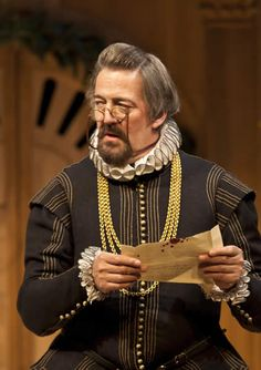 Stephen Fry as Malvolio. I wish I could go see this production of Twelfth Night!