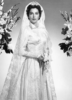 Ava Gardner as a bride in Pandora and the Flying Dutchman, 1951