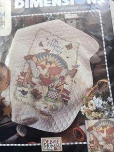 Herrschners® Butterfly Garden Lap Quilt Top St&ed Cross-Stitch ... : stamped cross stitch lap quilts - Adamdwight.com