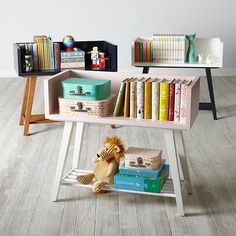 10 Cute Kid's Bookcase Ideas