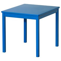 KRITTER Childrenu0027s Table   Blue   IKEA To Go With The Rainbow Chairs