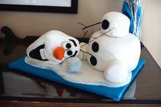 Olaf cake 1