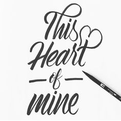 """This #heart of mine. By @elvisphreshly. 