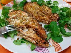 Salmone con Panatura croccante al Forno - Anna e la sua Cucina