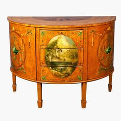 Eye For Design: Decorating With Antique Painted Satinwood Furniture