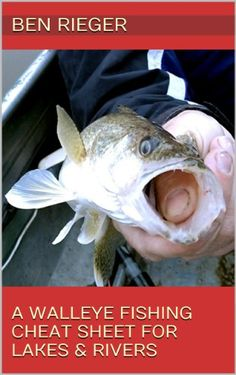 88 best fishing book images on pinterest fishing books fishing free kindle book a walleye fishing cheat sheet for lakes rivers fandeluxe Choice Image