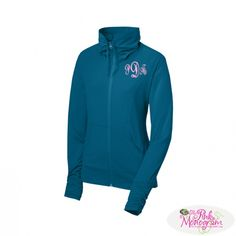 Monogrammed Ladies Sportwick Stretch Full Zip Jacket in great Colors  Apparel & Accessories > Clothing > Activewear > Active Jackets