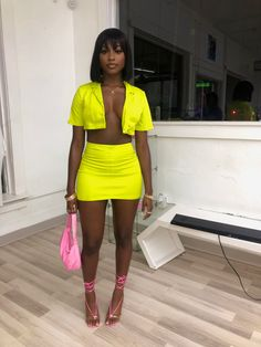 Cute Swag Outfits, Dope Outfits, Classy Outfits, Girl Outfits, Fashion Outfits, Club Outfits For Women, Fashion Ideas, Clubbing Outfits, Looks Black