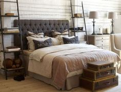 33 Stylish Masculine Headboards For Your Manu0027s Cave Bedroom