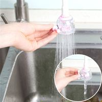 ABS+PVC Kitchen Shower Design Faucet Filter Saving Water Filter Adjustable Tap Nozzle Kitchen Faucet Accessories