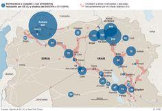 Los bombardeos contra el Estado Islámico | Internacional | EL PAÍS