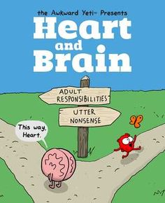 Week # 10 Humour Sage's Pick: Heart and Brain: An Awkward Yeti Collection