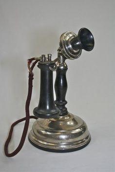 1898 Elston Telephone Company potbelly