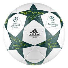 adidas Finale Capitano Ball (White Green) Balon Futbol Sala b9cb27b66b622
