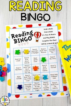 Your students will have so much fun completing this Reading Bingo. They will be encouraged to read during Reading Month and all year long. Reading Resources, Reading Activities, Teaching Reading, Learning, Reading Strategies, Guided Reading, Teacher Resources, Enrichment Activities, Classroom Activities