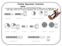 Make learning about fractions a lot more fun with the help of some very frustrated penguins! This six page read-aloud story is the kick off to your students' discovery of fractions. Once each skill is presented and practiced, a game is provided that can grow along with your students' skill level. The unit is also useful for fraction remediation for fourth graders. $