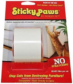 PION-29248-Pioneer Pet Sticky Paws on a Roll Cat Deterrent