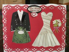 T&T's Wedding 2014 (Custom) Two Hearts, In A Heartbeat, I Card, Iris, Wedding, Clothes, Valentines Day Weddings, Outfits, Clothing