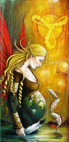 Sophie Wilkins   Canadian Magic Realism painter