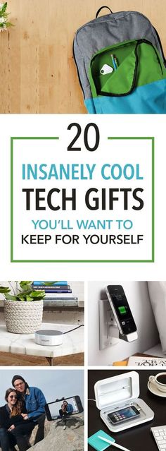 20 Insanely Cool Tech Gifts You'll Want To Keep For Yourself