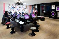 Mattel, House of Barbie (Shanghai, China) by Cynthia Stipeche, via Behance