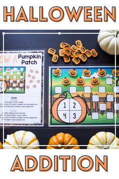 Introducing the concept of addition? Kindergarten students will delight in practicing this fouindational skill as they grow their pumpkin patch! Aligns with CCSS K.OA.A.1