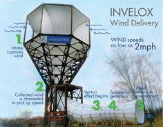Revolutionary Windpower Design form the USA Windenergy using the Venturi Effect | Revolutionäres Konzept für Windkraftanlagen. Windenergie unter Nutzung des Venturi Effektes