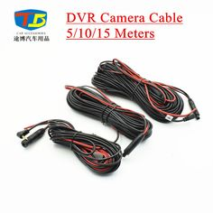 Buy Car DVR Cable,5M/10M/15M 4 PIN Wire Cable,Professional Extend Cable for DVR Rear View Camera 2.5mm 3.5mm jacker ....Check Link
