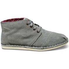 Introducing the TOMS take on the desert boot: a versatile approach to any occasion. Featuring clean lines and soft suede construction, the adaptable Grey Suede Desert Botas.