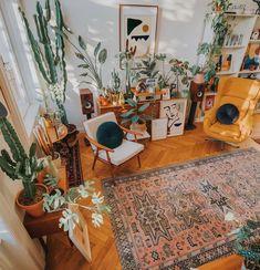 Home Interior Ideas Bohemian Latest And Stylish Home decor Design And Life Style Ideas Stylish Home Decor, Retro Home Decor, 70s Decor, Deco Retro, Decoration Inspiration, Decor Ideas, Room Ideas, Aesthetic Rooms, Bohemian Decor