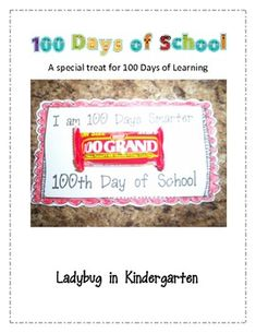 100th Day of School Candy Treat