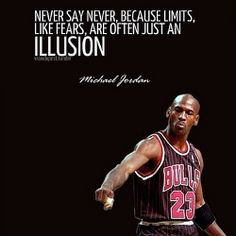Be mindful of illusions #michaeljordon #success #life