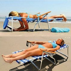 Buy 5 Position Beach Chair w Patented Face cavity, Arm slots, Pillow & Leg Rest – Blue & White Stripe. Also comes in pink! Best Beach Chair, Beach Chairs, Beach Pool, Beach Day, Tanning Chair, Summer Fun, Summer Time, Ideas Prácticas, Gift Ideas