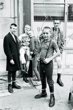Skins... These kids were bover boys not MODS. See the boots (Bover Boots lol)