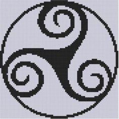 Celtic Pattern 2 Cross Stitch Pattern