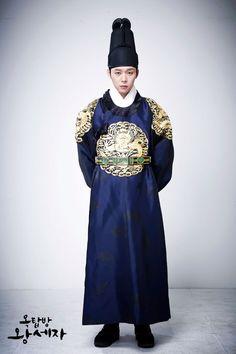 Micky Yoochun as Prince  Lee Gak  kdrama  'Rooftop Prince'