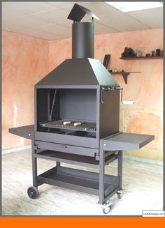 Barbecue Design 2020 – Can you use normal bricks for a BBQ - Home Ideas Grill Diy, Patio Grill, Barbecue Grill, Bbq Pit Smoker, Fire Pit Grill, Fire Pit Backyard, Fire Pits, Design Barbecue, Grill Design