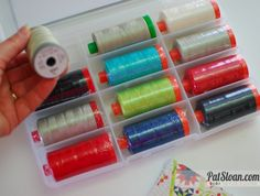 Fresh and exciting! Pat Sloan's NEW ‪#‎Aurfil‬ thread collection includes a little bit of everything and a whole lot of options! Pat's very custom collection contains a variety of threads for many different sewing and quilting projects. Find out more about this fabulous new collection by visiting  http://blog.patsloan.com/2015/12/pat-sloan-meet-my-new-thread-kits.html