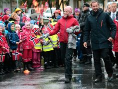 Crown Prince Haakon and Crown Princess Mette-Marit on their last day in Nordland.2014.09.11