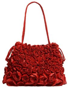 This is cute, but I hope you've saved up. Valentino rose tote, $4000
