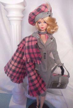 Barbie Silkstone Fashion Royalty Repro Vintage Fashion Handmade OOAK Mary…