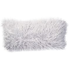 Nordstrom Rack Solid Flokati Faux Fur 12x24 Pillow ($11) ❤ liked on Polyvore featuring home, home decor, throw pillows, grey micro, textured throw pillows, gray throw pillows, patterned throw pillows, nordstrom rack and faux fur throw pillow