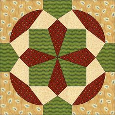 Country Rose Quilts: Block 19